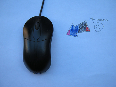 My wheel mouse.