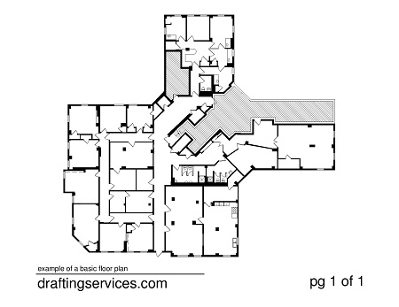 Floor plans nyc by for Floor plan drafting services